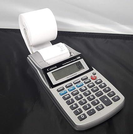 Canon p1dhv portátil impresora, pantalla de 12 dígitos ...
