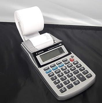 Canon p1dhv portátil impresora, pantalla de 12 dígitos calculadora ...
