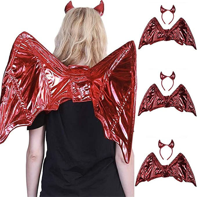 Kinlene Alas de adulto Disfraz de Halloween Animal Wing ...