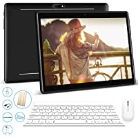 Tablet 10.1 Pulgadas 3GB+32GB, Octa Core Dual SIM 3G Tableta de función de llamada ,Android 7.0 V Mobile , 8000 mAh,Diseño de superficie curva 2.5D, WiFi/ Bluetooth/GPS/OTG , Negro