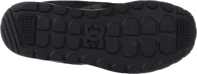 DC Shoes Men's Kalis Lite SE Top Sneaker Shoes Black Dk Gry Nero Mimetico