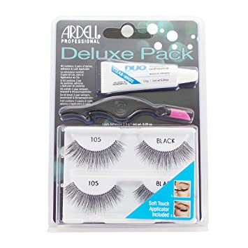 38f8e8d705c Amazon.com: Ardell Natural #105 Deluxe Twin Pack Lashes: Beauty