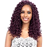 "FreeTress Synthetic Hair Crochet Braids GoGo Curl 12"" (3-Pack, 1)"