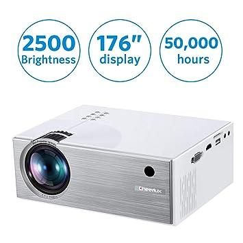 XINHUANG [Actualización 2019] Mini proyector, proyector LED ...