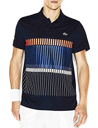 f0722f81 Lacoste Sport - Men's Short Sleeves Polo - DH8003: Amazon.co.uk ...