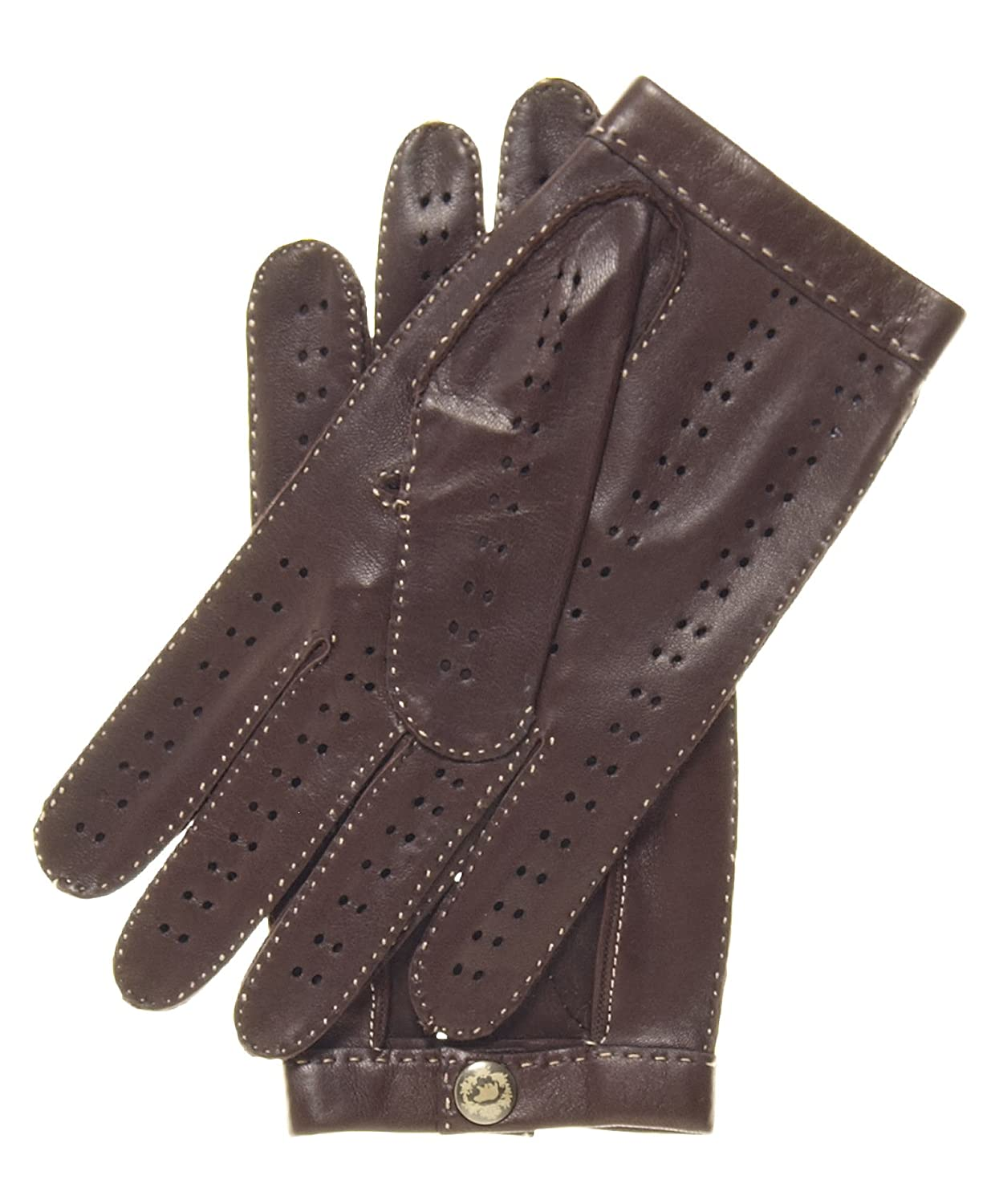 Handmade leather driving gloves - Fratelli Orsini Men S Handsewn Italian Lambskin Leather Driving Gloves Size 7 Color Black At Amazon Men S Clothing Store Cold Weather Gloves