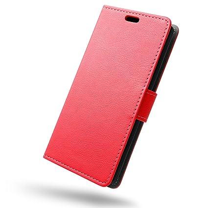 SLEO Funda OnePlus 5, Cartera Carcasa Piel PU Suave Flip Folio Caja Super Delgado [Estilo Libro,Soporte Plegable y Cierre Magnético] para OnePlus 5 - ...