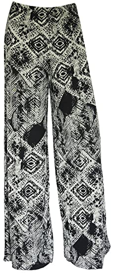 8347cce8eec Image Unavailable. Image not available for. Color  WearAll Plus Size  Women s Palazzo Trousers