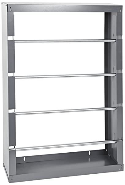 Durham 368-95 Gray Cold-Rolled Steel Wire Spool Rack with 4 Rods, 26 ...
