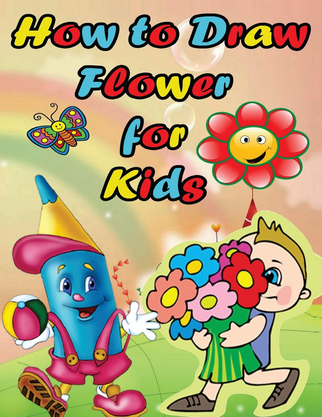 How to Draw Flower For Kids Easy Step by Step Guide for