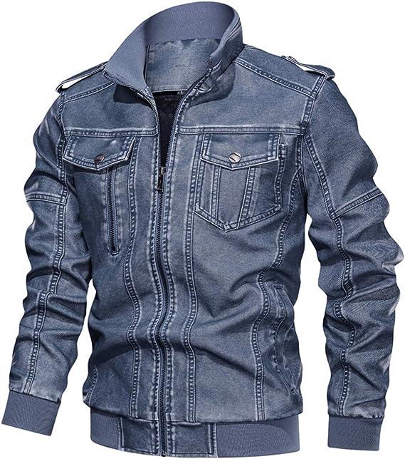ライダースジャケット メンズ ウォッシュ加工 ダメージ加工 ショートコート m-6xl オートバイ用 ジップアップ レザージャケット 大きいサイズ 防寒 カジュアル モッズコート ミリタリー 上着 作業用