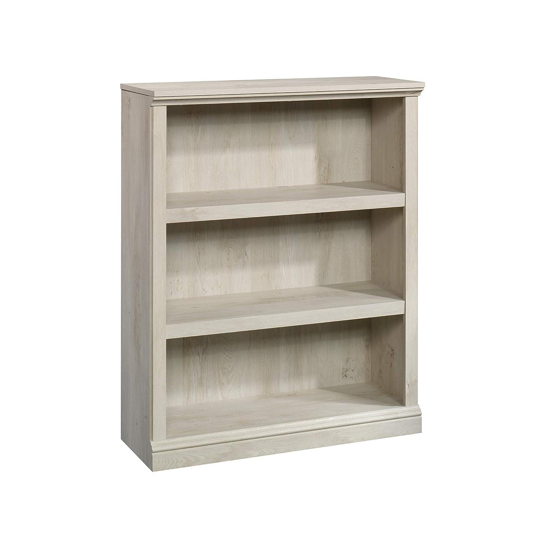 Sauder 3 Shelf Bookcase, L 35.28 x W 13.23 x H 43.78 , Chalked Chestnut finish