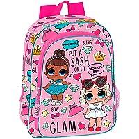 LOL Glam Mochila Infantil Escolar, niña