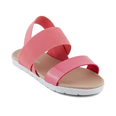 c8539093921a4 KITTENS Girls Pink Sandal: Buy Online at Low Prices in India - Amazon.in
