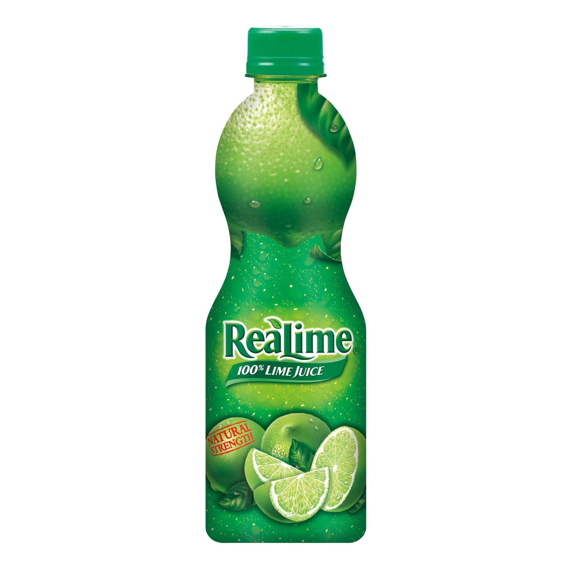 ReaLime 100% Lime Juice, 8 fl oz bottles (Pack of 12) by Realime (Image #1)