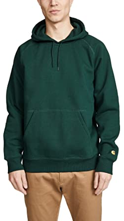 60497ec5 Carhartt WIP Men's Hooded Chase Sweatshirt at Amazon Men's Clothing ...