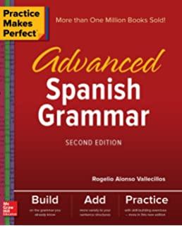 Amazon spanish conversation practice makes perfect practice makes perfect advanced spanish grammar second edition fandeluxe Images