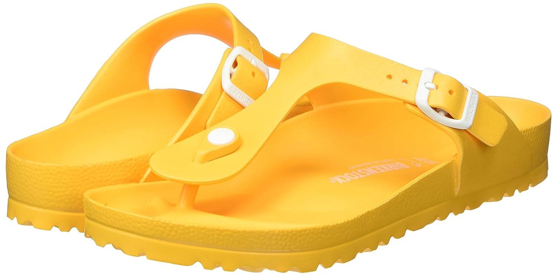 6ffb006a3b624 Birkenstock Womens Gizeh EVA Sandals Scuba Yellow Size 41 M EU
