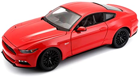 amazon com maisto 1 18 scale 2015 ford mustang diecast vehicle