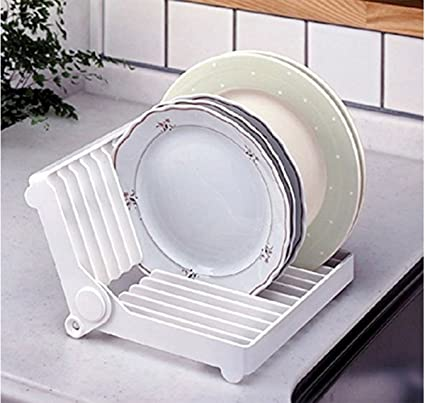 MosQuick® Folding Plastic Kitchen Dish Rack  Dish Drying Rack  Plate Stand Plate & Buy MosQuick® Folding Plastic Kitchen Dish Rack Dish Drying Rack ...