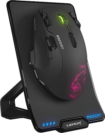 6c2a44ef9a1 Amazon.com: ROCCAT LEADR – Wireless Multi-Button RGB Gaming Mouse ...