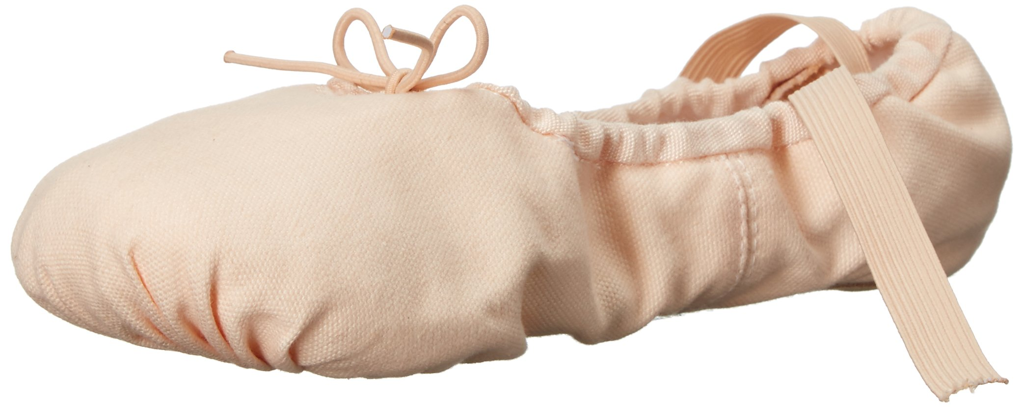 Sansha Pro 1 Canvas Ballet Slipper,Light Pink,10 W (8 W US Women's/6 W US Men's)