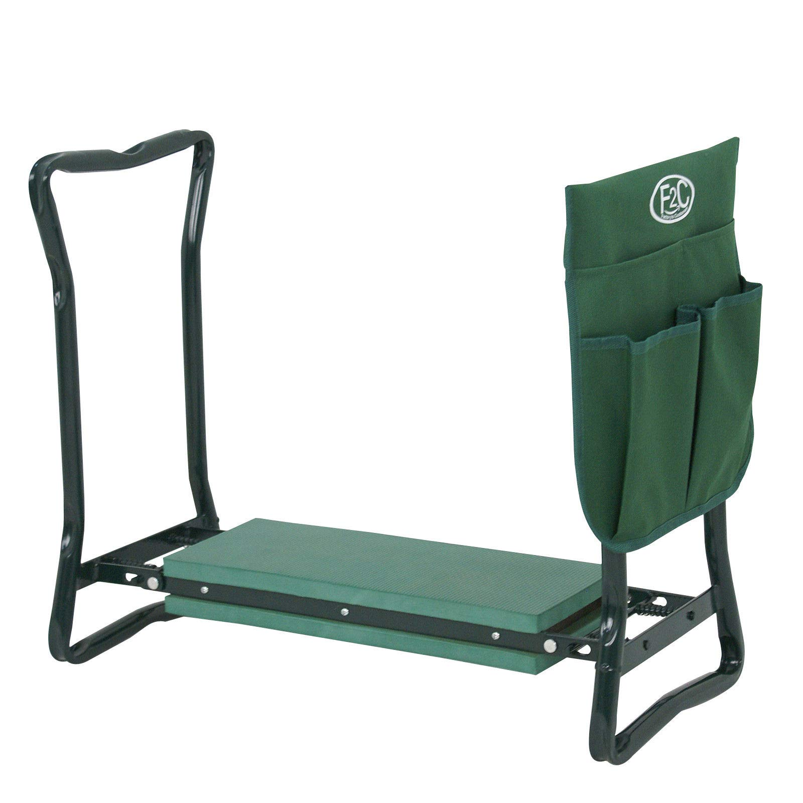Has_Shop Garden Bench Foldable Kneeler Stool Soft Cushion Seat Pad Kneeling w Tool Pouch by Has_Shop (Image #5)