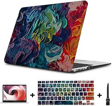 Primeros Planos de Pinturas Macbook Air/Pro 11/12/13/15 Inch Estuche de plástico Estuche rígido Carcasa Mac Pro Funda Apple Macbook Estuche Macbook de 13 Pulgadas Estuche: Amazon.es: Electrónica