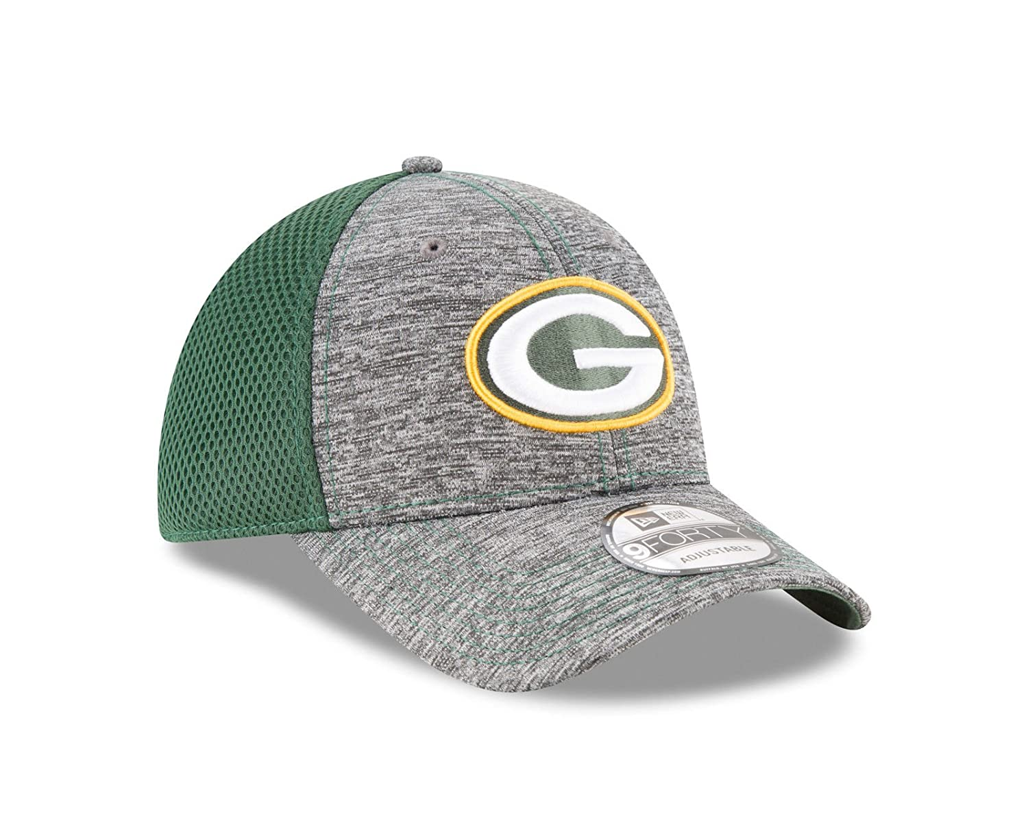 06bd982e2909 Amazon.com   New Era Green Bay Packers Shadow Turn 9FORTY Adjustable  Strapback Hat   Sports   Outdoors
