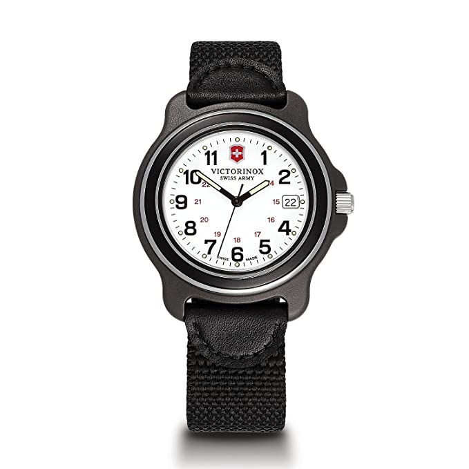 249087 Xl Victorinox Analog Original Display Hombre Reloj Negro De Y6gyfvb7