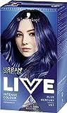 Schwarzkopf Urban Metallics Live Hair Colour, U67 Blue Mercury, Pack of 3