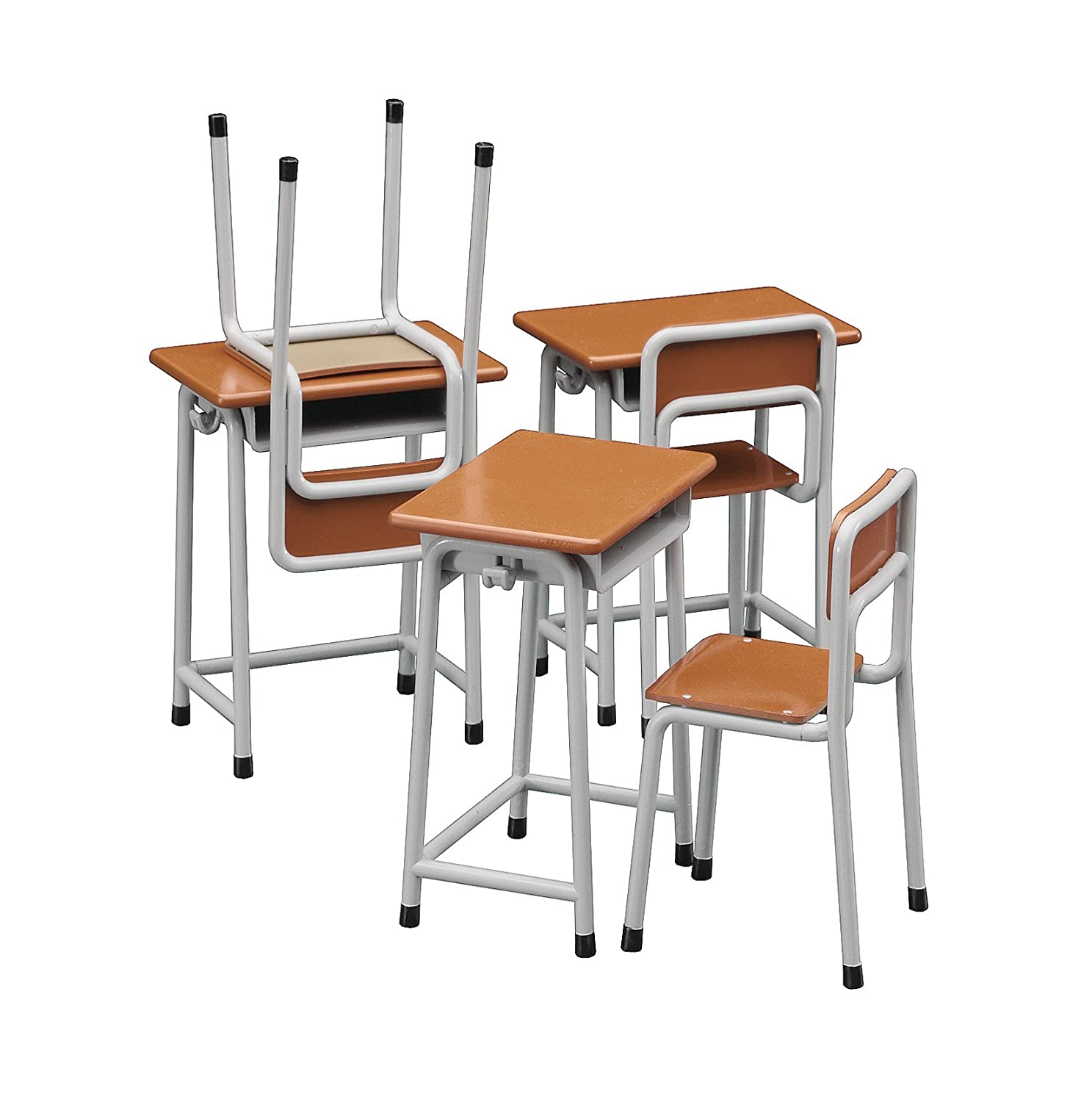 school desk and chair. amazon.com: hasegawa 62001 1/12 school desk \u0026 chair - for toy figures: toys games and o