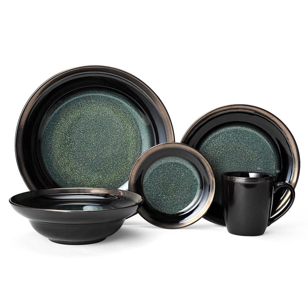 Gourmet Basics Jade Dinnerware Set (20 Piece)
