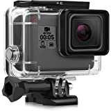 iTrunk Waterproof Protective Housing Case for GoPro Hero 7 Hero 2018 Hero 6 Hero 5 with Quick Release Bracket & Thumbscrew Accessories for Go Pro Hero 2018 Hero6 Hero5 Hero7 Black Action Camera