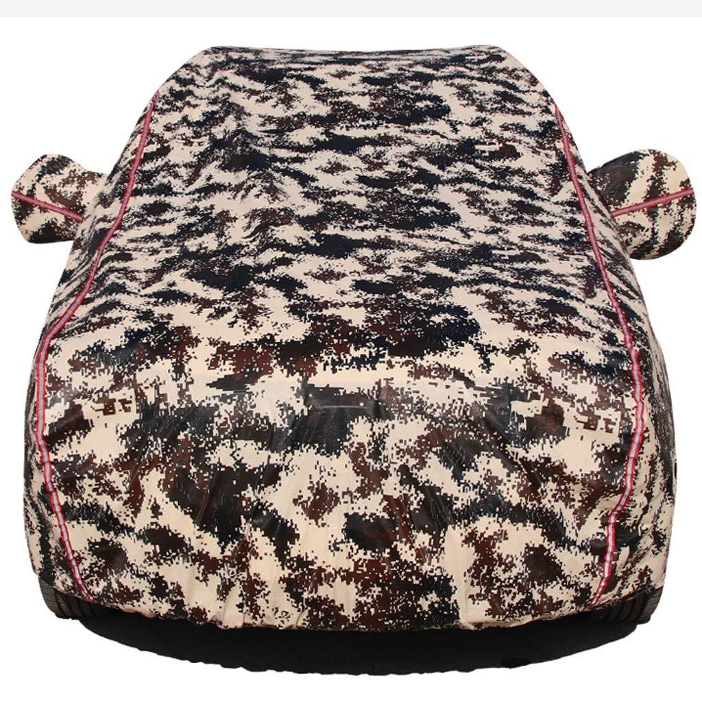 Smaw Veh/ículo todoterreno cubierta del coche a prueba de agua for cualquier estaci/ón a prueba de viento//impermeable//a prueba de polvo//resistente a ara/ñazos Corvette Color : Green camouflage