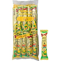 Umaibo - Japanese Corn Snack - Corn Flavor- 30 Pieces اومايبو - الفش الفاش الياباني نكهة الذرة كيس 30 حبة