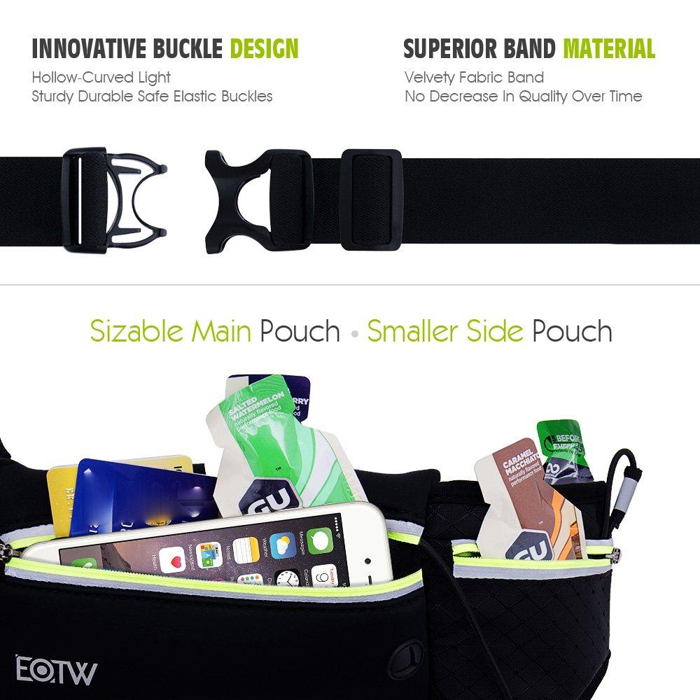 Riñonera running, EOTW Cinturones de Hidratación para iPhone, Samsung por solo 13,99€