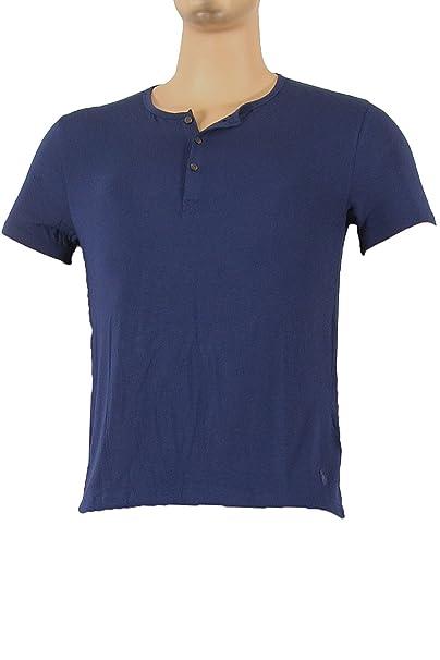 Polo Ralph Lauren - Camiseta de Pijama - para Hombre Azul Marino M
