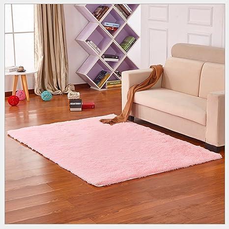Amazon.com: Yontree Cozy Shaggy Area Rugs Floor Rug Bedroom Carpet ...