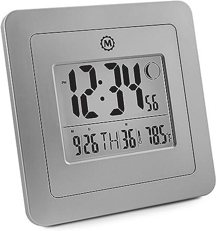 CL030049 - Reloj digital de pared, con fecha, día, número de ...