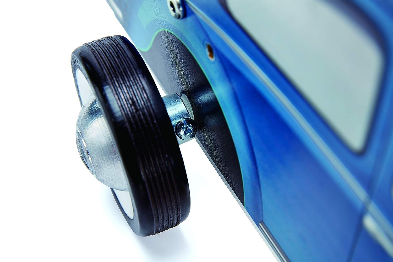 Hape E0381 HAP-E0381 Blue Camper Van Walker Multicolor
