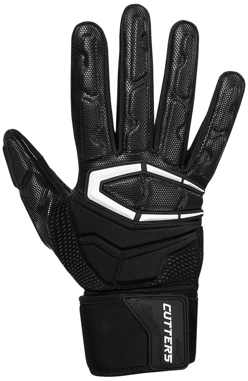 Cutters Gloves S932 Force 3.0 Lineman Gloves, Black, Medium