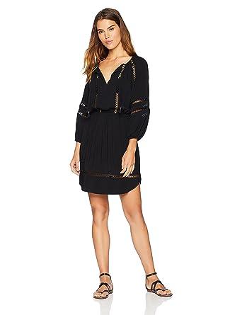 8c6a60209e Seafolly Women's Lace Insert Dress at Amazon Women's Clothing store: