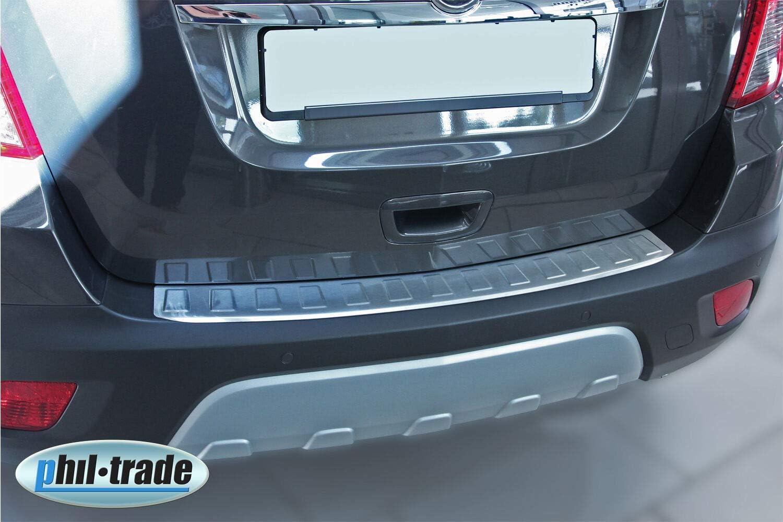 Chevrolet TRAX Recambo CT-LKS-1830 LADEKANTENSCHUTZ Edelstahl MATT f/ür OPEL Mokka X Large 2012