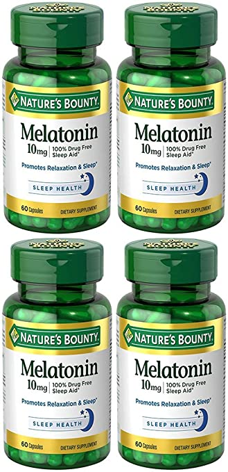 Image Unavailable. Image not available for. Color: Melatonin 10 mg ...