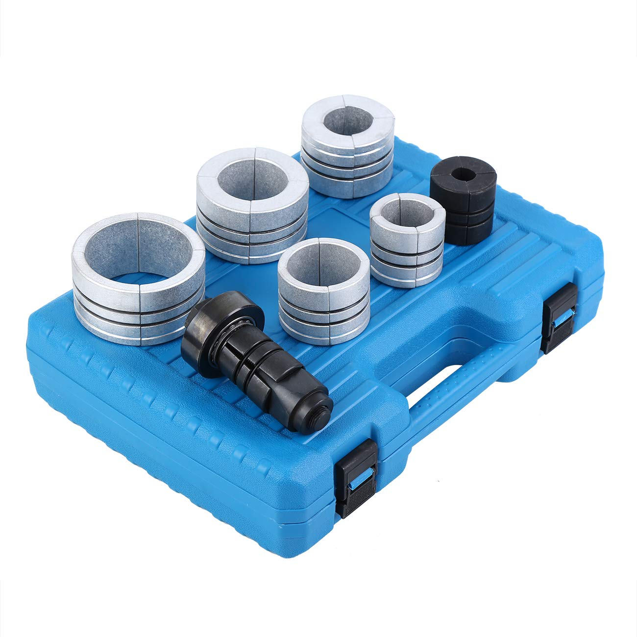 28mm Exhaust Pipe Stretcher Expander Tool Kit with Blue Storage Case Ambienceo Pipe Stretcher Kit