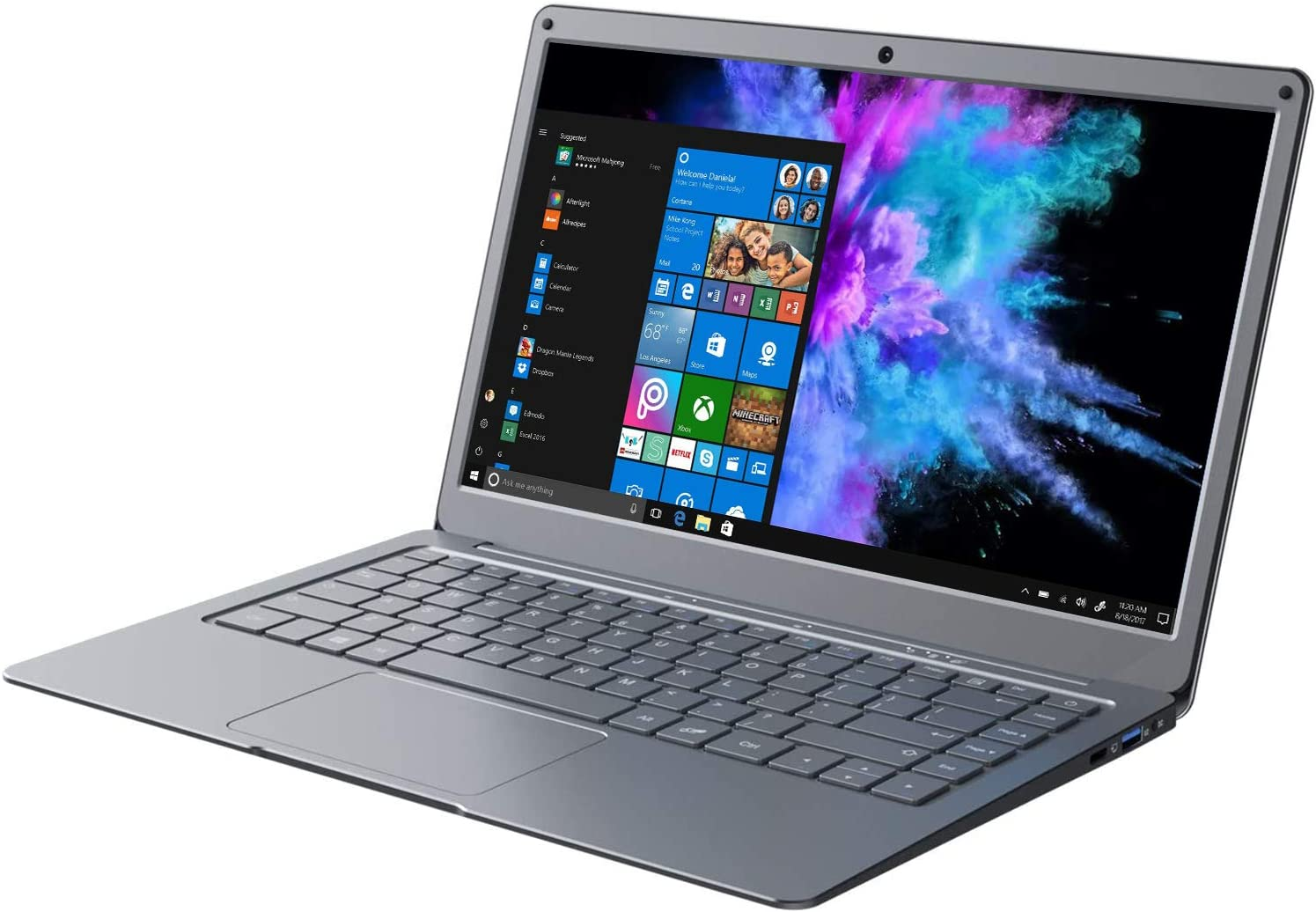Jumper Laptop Computers 13.3 Inch 8GB RAM 256GB ROM Quad Core Celeron, Windows 10 Thin and Light Laptop, Full HD 1080P Display, Support 256GB TF Cardand 1TB SSD Expansion