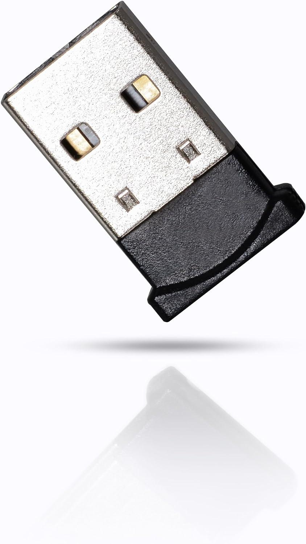 CSL - USB Adaptador Nano con Bluetooth V4.0 - Tecnología 4.0 - El estándar más Moderno - Plug y Play - Compatible Win 10