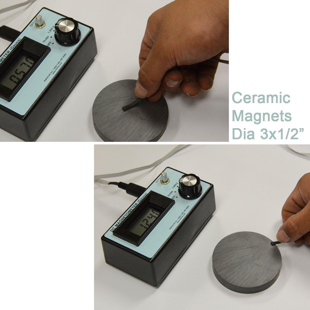 Imanes de cerámica C8 diámetro 3