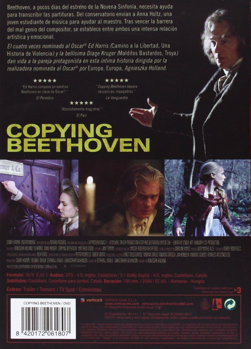 Amazon.com: Copying Beethoven (Import Movie) (European Format - Zone 2) (2012) Ed Harris; Diane Kruger; Matthew Goode;: Movies & TV